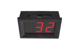 Lämpömittari (pun LED)