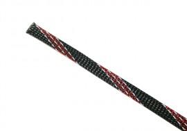 Musta punavalk. raidat suojasukka 12mm
