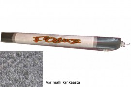 Focus vaaleanharmaa kaiutinkangas(rulla)