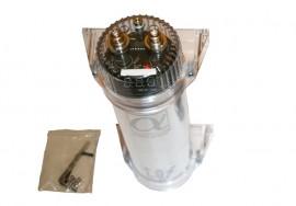 1F kondensaattori (hopeinen)