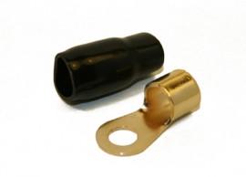 Rengasliitin 35mm² kaapelille (musta)